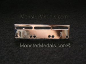 MINIATURE MEDAL MOUNTING BROOCH BAR 3 SPACE